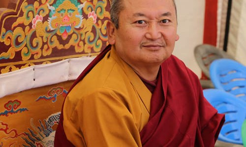 Rinpoche's One Year Retreat Completion in August 2014