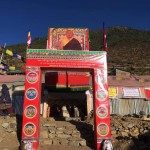 Welcome gate for Rinpoche at Simikot